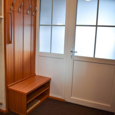 Vorraum und eigene Eingangstür